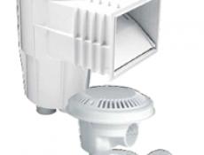 水面清潔器落水頭回水孔按摩噴頭