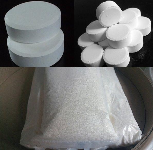 大小氯錠+氯粉